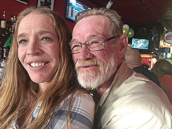 Star Bar regulars Lori and her dad Mike