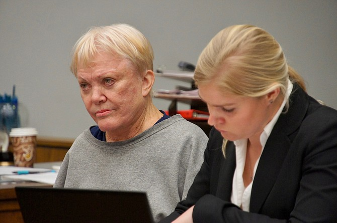 Jane McKay is back in jail. Now 73.