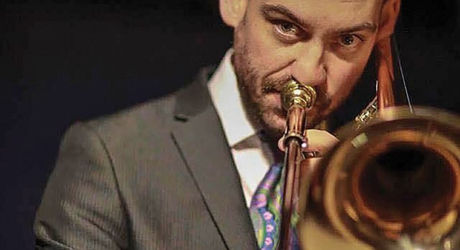 """Matt Hall says """"being in the Marine Corps Band made me a much more consistent musician."""""""