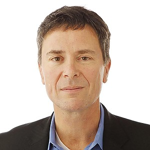 The Union-Tribune's Jeff Light displays the self-satisfied grin of a man who unironically quotes Henry David Throeaus.