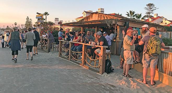 The Beach Shack: first-ever cafe actually on Coronado's beach