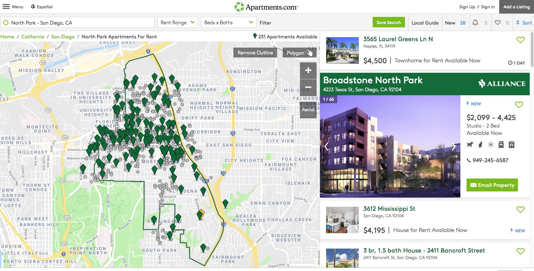 500 Apartment In North Park Dream On San Diego Reader