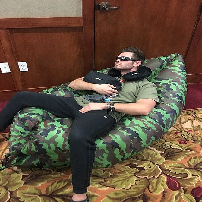Pack one of these sleep masks and neck pillows for instant darkness and stellar sleep. Visit: https://www.blackoutbands.com/vendors.html