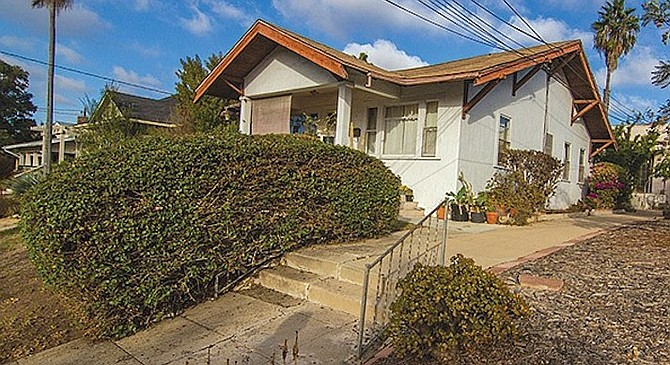A rental property owned by Shawn Bakhsh