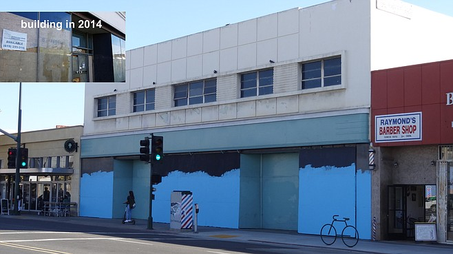 Woolworth's 1949 Streamline Moderne architecture was declared a historical resource.
