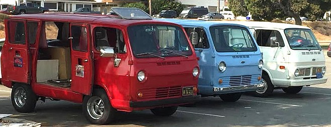 """There were a few original vanners out."""