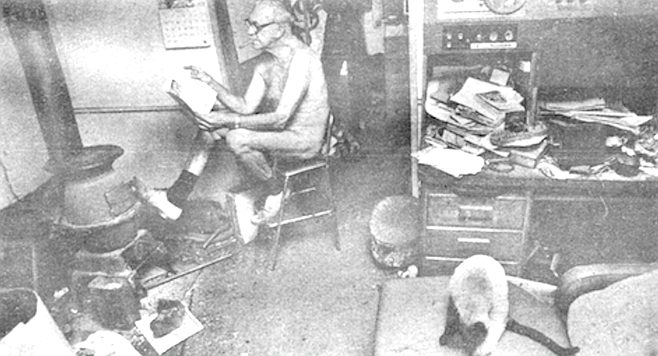 Ernie Miller is the godfather of San Diego's nudist scene.