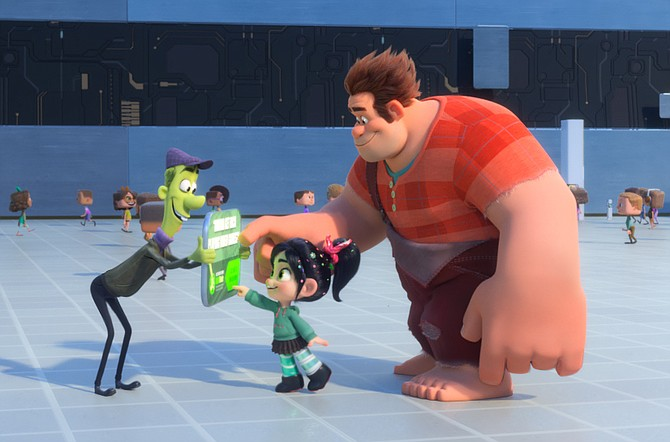 Spamley (who Merghart helped design) lands a couple of customers in Ralph Breaks the Internet.
