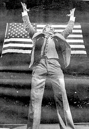 Art Holst, an NFL pro football official and professional motivator