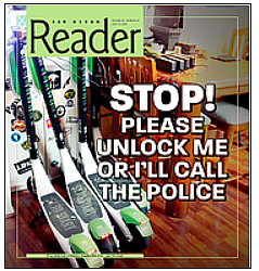 July story by Dave Rice in Reader