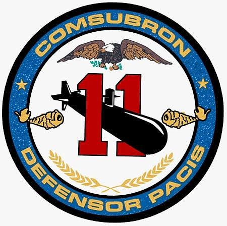 Insignia, Submarine Squadron 11, San Diego