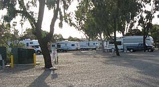 Surf & Turf RV Park has 65 spaces used primarily by racetrack fans or temporary employees of Del Mar Fair or racetrack.