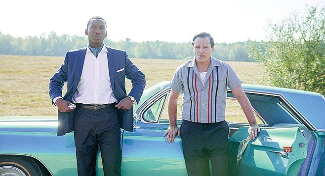 Greenbook: Farrelly they roll along: Mahershala Ali and Viggo Mortensen star in this racial road movie.