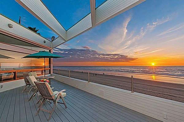 Jenny Craig probably watched similar sunsets from this very deck.