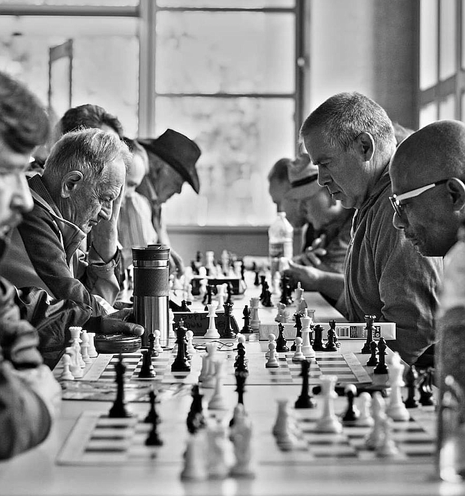 """Chess improves concentration and focus."""