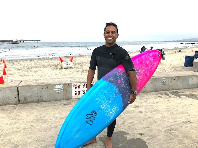 """Fabiano Sarmento: """"I have about 15 boards. I'm a little addicted."""""""