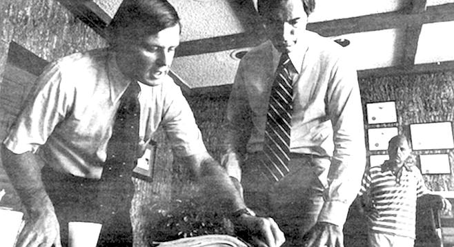 Aide Dan Kelly, Roger Hedgecock, Carl Ludlow