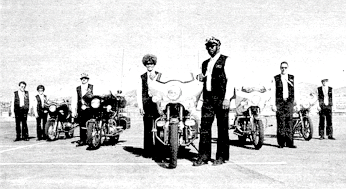 Since most of the Silver Eagles have associated with outlaw clubs in their past, they claim they are being harassed and followed by the Hell's Angels.