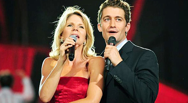 Kelli O'Hara, Matthew Morrison. Her legato was flawless. Her breath was engaged, and her heart was in the text.