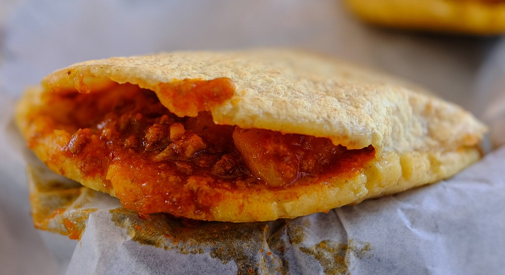 Picadillo gordita – like a spicy sloppy joe