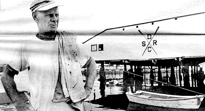 """Kearney Johnston: """"Arnholt Smith. Yeah, he was quite a rower. He rowed the lap boats, then he rowed on teams."""""""