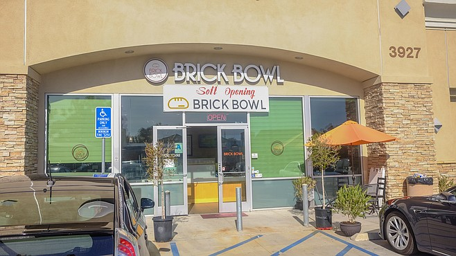 Brick Bowl during its soft open on Convoy Street