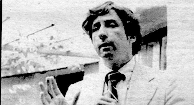 "Tom Hayden: ""People want to know if I'm a radical."" - Image by Jay Gitterman"