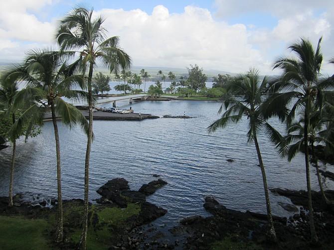 Hilo Hawaiian Hotel bay view