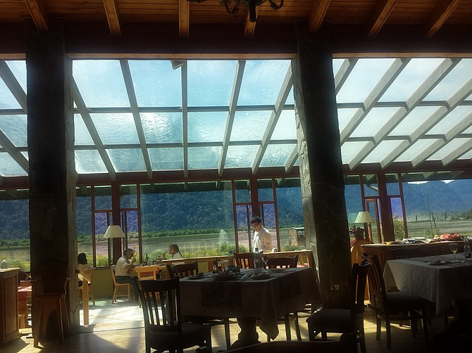 Hotel Restaurant Natura, official Chile entrance