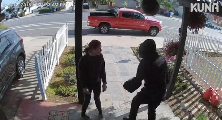 Imperial Beach couple stops porch thieves