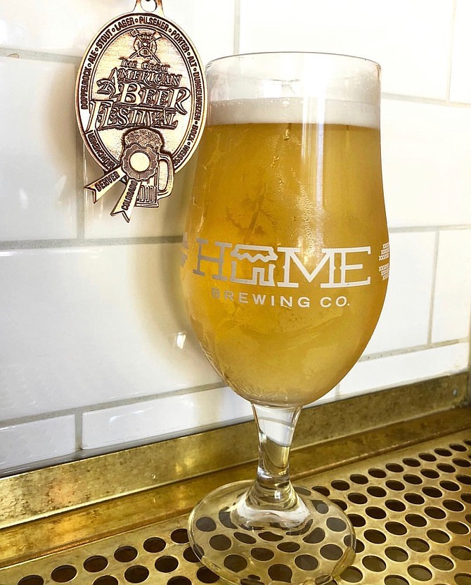 Home Brewing Co. won a bronze medal at this year's Great American Beer Festival with a historical lichtenhainer.