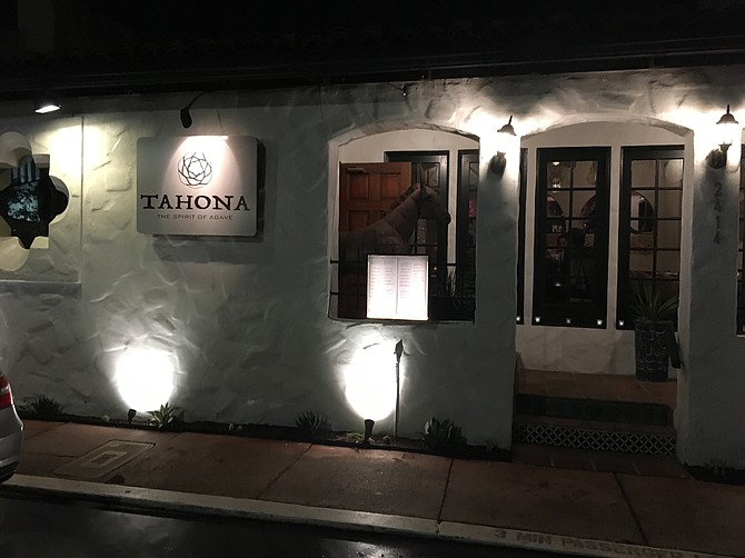 Tahona Bar in Old Town is located next to the Old Town Cemetery, which can be interesting after a few cocktails.