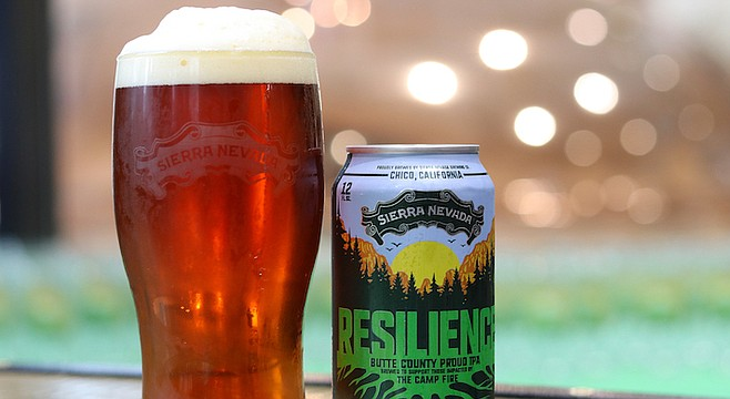 Cover versions of this Sierra Nevada IPA will be served by local breweries this winter. Photo courtesy Sierra Nevada Brewing Co.