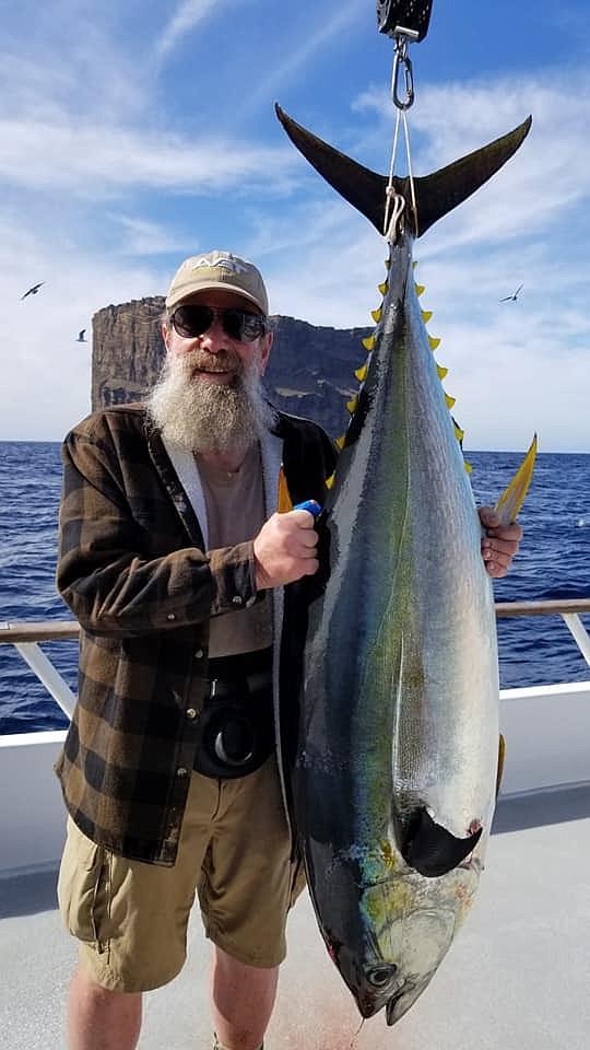 Good grade of yellowfin tuna at Guadalupe