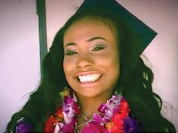 Graduation photo of good girl Sheffah.
