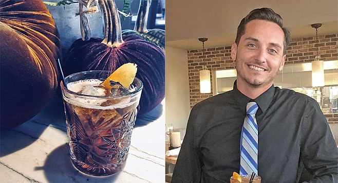 """Eric Knowlton: """"The chinotto has a unique flavor. It's a little bitter and a little sweet, but well balanced."""""""