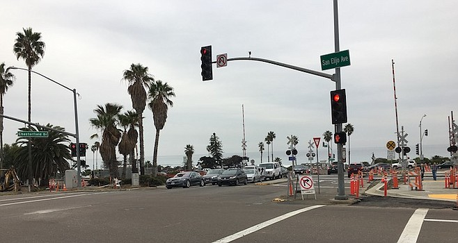 Closure of Chesterfield Drive's crossover will eliminate the town's only exit to Highway 101.