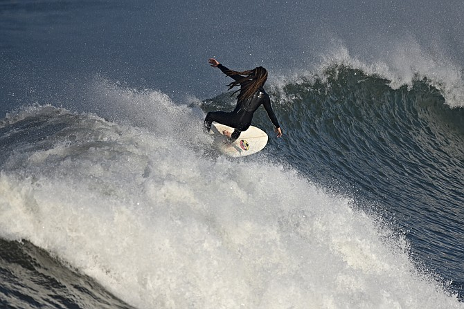 Ocean Beach surf, the morning of Dec.23rd,
