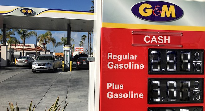Gas Prices San Diego >> Oceanside Mohsen Gas Stations At War With G M Stations San Diego