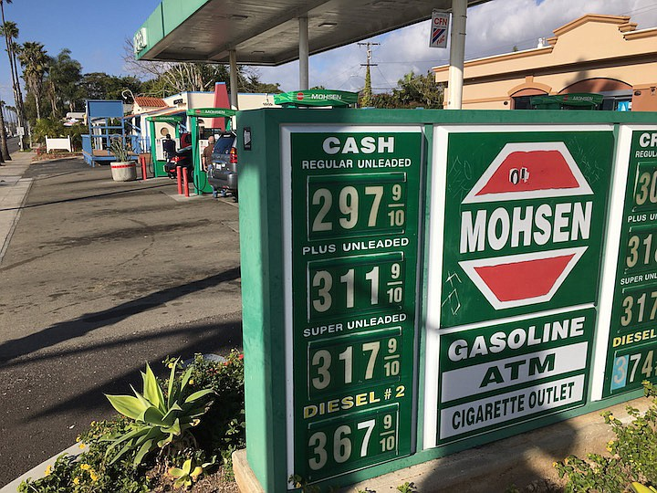 Two Mohsen stations in Oceanside have recently been in a price war with four Oceanside G&M stations.