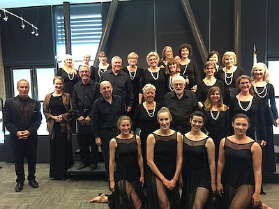 Roger Anderson Chorale and Dancers