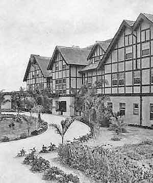 Stratford Inn, once a hotspot for Hollywood stars, then a hangout for vagrants, was demolished in the 1969 and replaced with the L'Auberge in 1989.