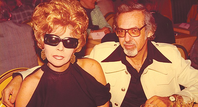 Crazy Love: Linda and Burt Pugach in unhappier times.