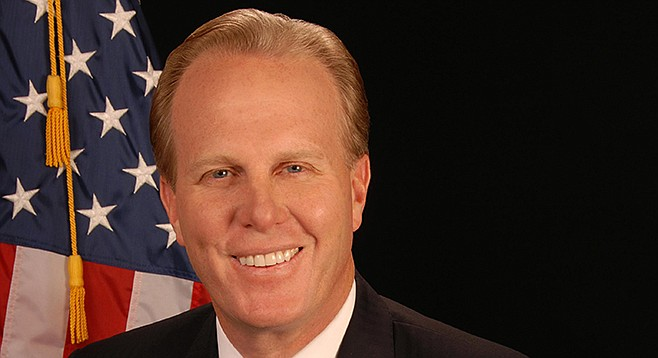 E-scooters make Mayor Faulconer smile.