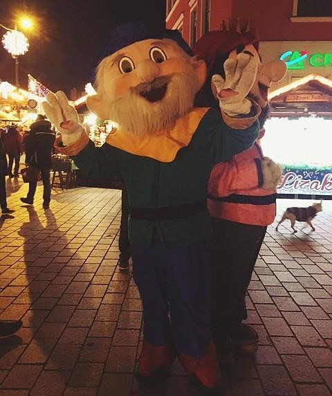 Wroclaw Christmas Fair dwarfs