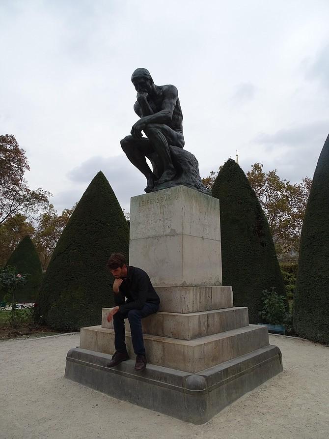 Rodin Sculpture Garden: The Thinker.