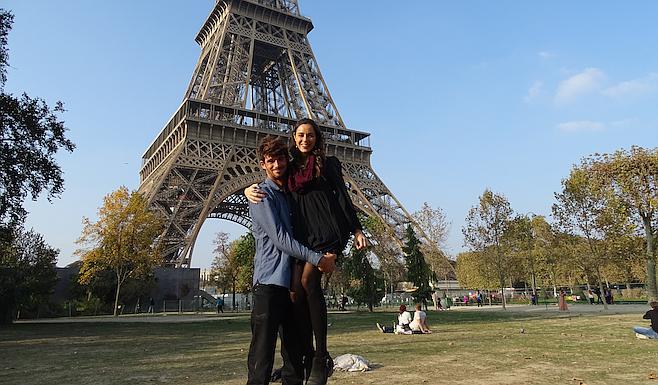 Obligatory Eiffel Tower shot in Paris.