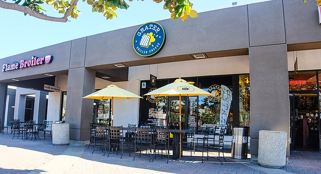 The Grater Grilled Cheese shop in Mission Valley