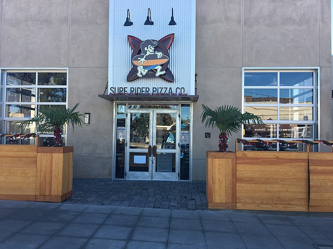 Surf Rider Pizza is the new restaurant to open on La Mesa Blvd.