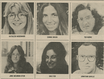Some of the 1973 staff